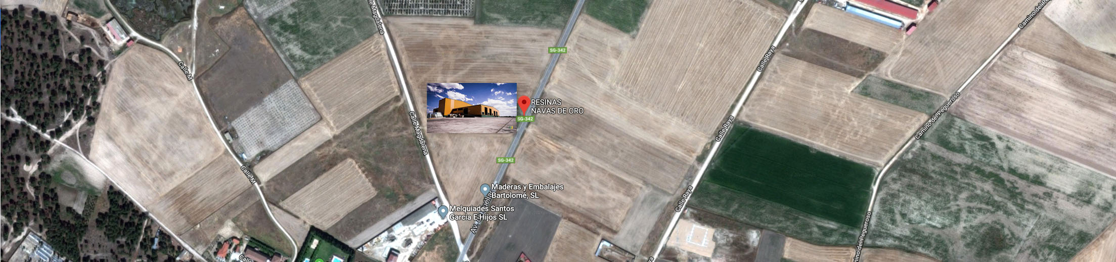 google maps resinas