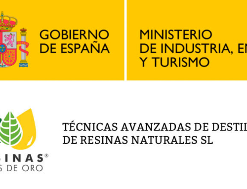 Advanced distillation techniques of natural resins S.L. Has received funding within the REINDUS 2016 program