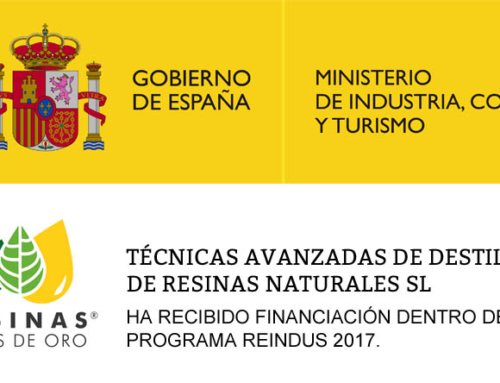 Advanced distillation techniques of natural resins S.L. Has received funding within the REINDUS 2017 program